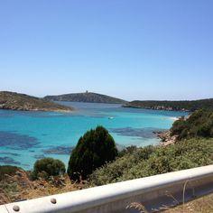 Tuerredda sea Sardinia, Landscapes, Island, Sea, Outdoor Decor, Paisajes, Scenery, Islands, The Ocean