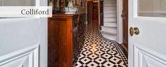 Kieron doesn't mind this one! Hallway Ideas, Painted Floors, Victorian Homes, Natural Light, Carpets, Animal Print Rug, Period, Tile, Flooring