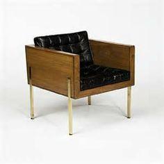 Harvey Probber, Cube Chair, 1959.