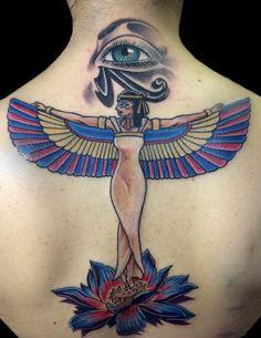 Resultado de imagem para isis tattoo