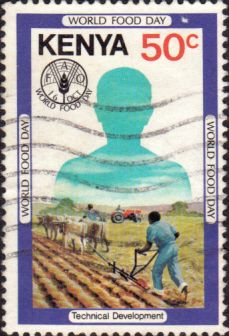 Postage Stamps Kenya 1981 World Food Day SG 216 Fine Used Scott 203 Other African Stamps HERE