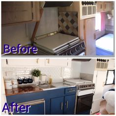 25 Best And Low-Cost Small RV Remodel Ideas With Before And After Pictures - Vanlife & Caravan Renovation Camper Renovation, Home Renovation, Home Remodeling, Cheap Renovations, Bathroom Renovations, Tiny Camper, Small Campers, Camper Caravan, Small Rv Trailers