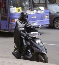 Darth scooter