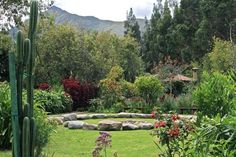 chakra gardens in sacred valley