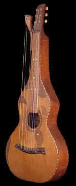 Knutsen Hawaiian harp guitar