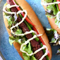 These Vegan Chorizo Hot Dogs are full of flavour, secretly healthy and super easy to make! The chorizo hot dogs are made with beans and they're fragrant, spicy and full of umami flavour. Also gluten-free.
