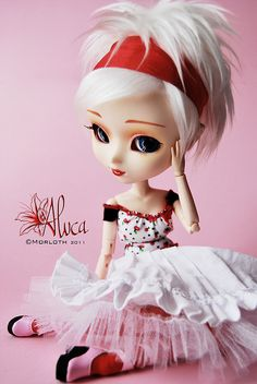 Aluca (pullip Kirsche) by Morloth, via Flickr