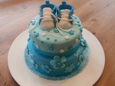 taart doop jongen