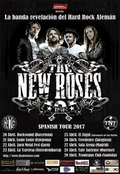 The New Roses estarán de gira todo el mes de abril, aquí tienes todas las fechas