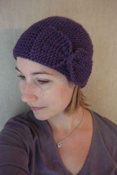 bonnet Mistinguette (tuto inside)