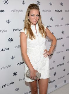 Cook Photos - Actress A. Cook attends the InStyle Summer Soiree held Poolside at the Mondrian hotel on August 2013 in West Hollywood, California. - Arrivals at the Annual InStyle Summer Soiree — Part 2 Aj Cook, Most Beautiful Women, Beautiful People, Queen Liz, Jennifer Jareau, Hair Color And Cut, Iconic Women, Celebrity Outfits, Criminal Minds