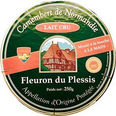 Camembert de Normandie AOP (20% MG) Lait cru - Produit