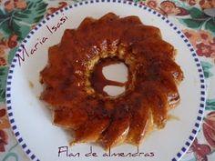 FLAN DE ALMENDRA (MICROONDAS)