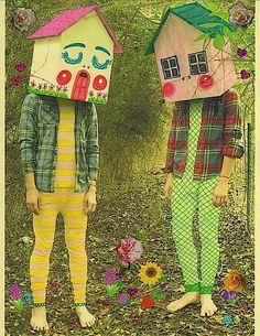 Retro Toy-Inspired Artwork: MILKBBI Art Channels a Hipster Strawberry Shortcake
