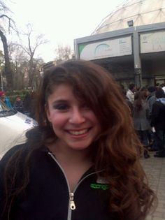 Camila saliendo de su gala de baile!