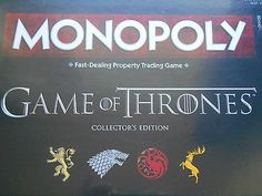Game of #thrones collectors edition monopoly #board game #*brand new* ,  View more on the LINK: http://www.zeppy.io/product/gb/2/232223852170/