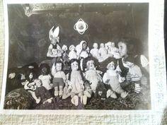 Meine Mutter mit ihren Puppen, Berlin 1932