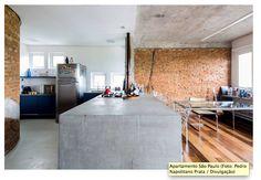 apartamento em SP, ideias com estrutura aparente_Casa Vogue
