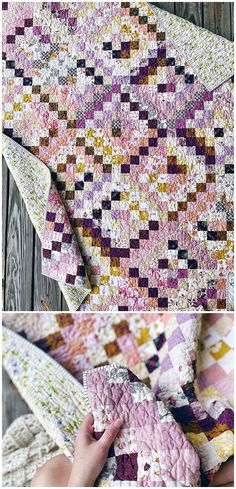 Trippy - A Trip Around the World quilt by Melanie Traylor of Southern Charm Quilts - Perfect for scrap busting! Yellow Quilts, Charm Quilt, Have A Lovely Weekend, Wide Stripes, Scrappy Quilts, Southern Charm, Quilt Top, Quilt Making, Trippy