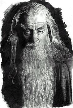 Gandalf the Grey by leiaskywalker83 on DeviantArt