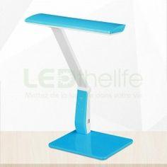 Lampe de bureau LED articulée avec variateur de lumière et charge USB Lampe de…