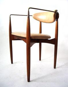 Dan Johnson; 'Viscount' Armchair for Selig, 1950s.