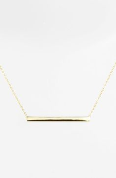 SILVER one PLEASE!!!!  Argento Vivo Bar Pendant Necklace available at #Nordstrom