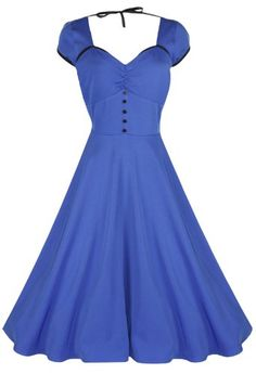 Lindy Bop 'Bella' Classy Vintage 1950's Rockabilly Style Swing Party Jive Dress - Buy New: $46.99