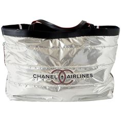 cc6d210977f1 Chanel Airlines Limited Edition Reversible Tote Bag with Beach Towel 1  Chanel Beach
