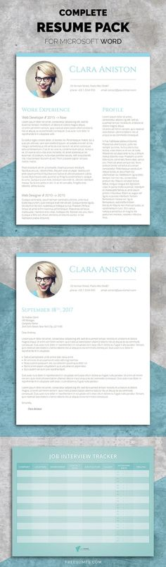 Clean Resume/CV Resume cv, Cv template and Template