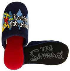 The Simpsons BartFab Herren Neuheit Maultier Pantoffeln - http://on-line-kaufen.de/footwear-studio/the-simpsons-bartfab-herren-neuheit-maultier