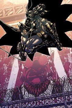 Batman: Arkham City - Batman Comic Art