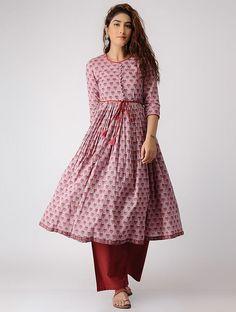 ideas skirt 2018 straight for 2019 Printed Kurti Designs, Kurti Neck Designs, Kurta Designs Women, Kurti Designs Party Wear, Blouse Designs, Kurtha Designs, Dress Designs, Pakistani Dresses Casual, Pakistani Dress Design