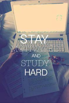 I have a mini blog thought over studying motivation! #motivation #student #nursingschool