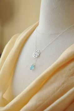 Lovely lariat necklace - Great gift for the special ladies this holiday #handmade #Etsy #jewelry
