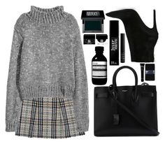 """WIND"" by mariimontero ❤ liked on Polyvore featuring Burberry, Barbara Bui, Yves Saint Laurent, Aesop, Make, Julep, NARS Cosmetics, Gap, Bobbi Brown Cosmetics and Givenchy"