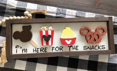 Excited to share this item from my etsy shop Disney snacks homedecor personalizednames scrollsaysign decorcustom woodsignssayings disneywoodsign Disney Kitchen Decor, Disney Bathroom, Disney Home Decor, Disney Snacks, Disney Halloween, Disney Christmas, Christmas Baby, Disney Springs, Casa Disney