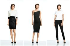 Black and white sophisticated style looks