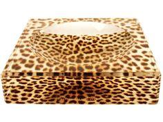 Alexandra Von Furstenberg | Acrylic Leopard Printed Charm Bowl | AHAlife