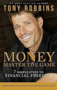 """Money-Master The Game-Tony Robbins / Buy this book...even if you've mastered your """"money game""""--lol...because ALL OF THE PROCEEDS go back to FEEDING AMERICA! What a great guy! #Books #TonyRobbins"""