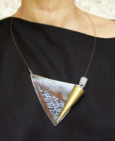 COLLIER ARTISANAL - Cécile Guedj AMALTHEE CREATIONS