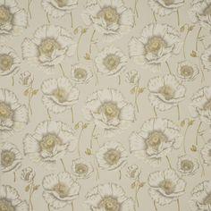 Sanderson Oriental Poppy Fabric DORIOR303 Designer Fabrics and Wallpapers by Sanderson, Harlequin, Morris, Osborne, Little And many more