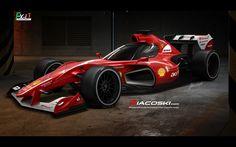 F1 con cabina cerrada - Concepto - Taringa!