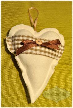 ręcznie szyte serducho #handmade #heart #serce
