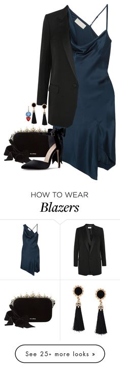"""Untitled #2577"" by seventeene on Polyvore featuring Michelle Mason, Yves Saint Laurent, Miu Miu and Irene Neuwirth"