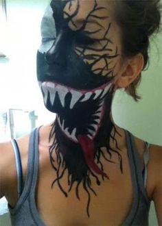 Inspiring Yet Scary Halloween Make Up Ideas 2013 2014 For Girls 6 Inspiring Yet Scary Halloween Make Up Ideas 2013/ 2014 For Girls
