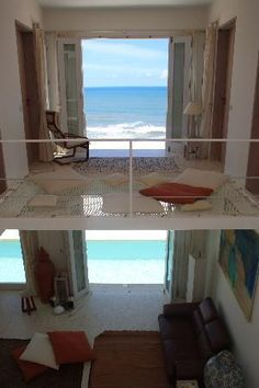 Sidi Ifni, Morocco: The view with the wonderful hammock floor