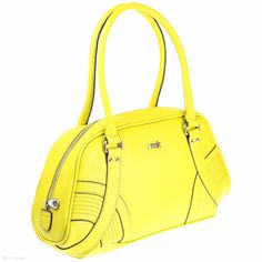 RMK Bilboa Bowler (Bright Yellow)  Handbags - Shoulder Bags - Jenn Louise