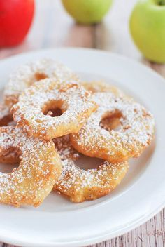 Apple Fritters - the easy way to make apple fritters!