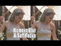 How to remove blur in photos using frequency Separation Adobe Photoshop Tutorials CC Creative Cloud - YouTube